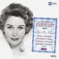 Elisabeth Schwarzkopf Perfect Prima Donna 10 CD - NEW (Bach, Mozart, Schubert)