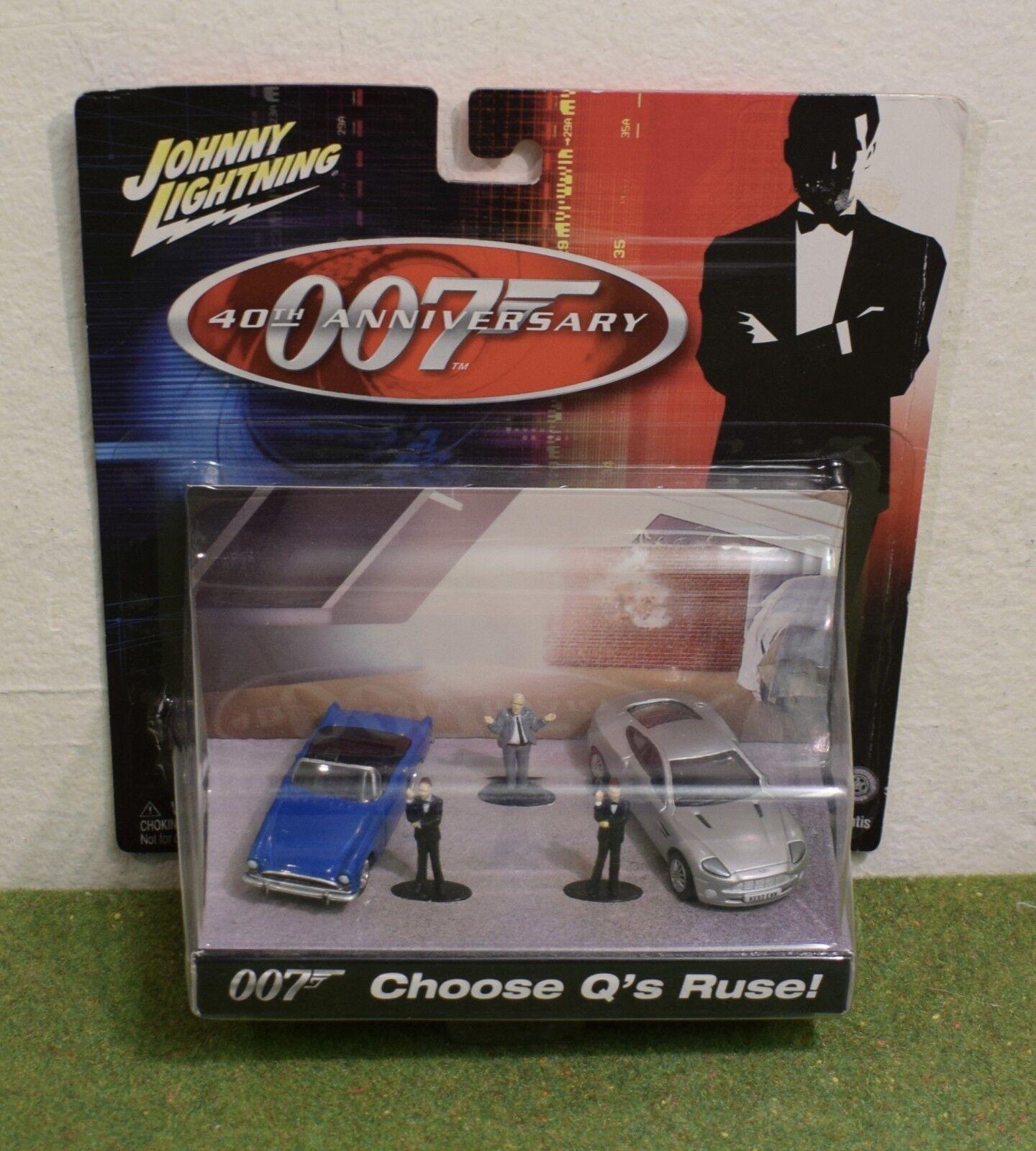 JOHNNY LIGHTNING JAMES BOND 007 40th ANNIVERSARY CHOOSE CHOOSE CHOOSE Q's RUSE 9322c9