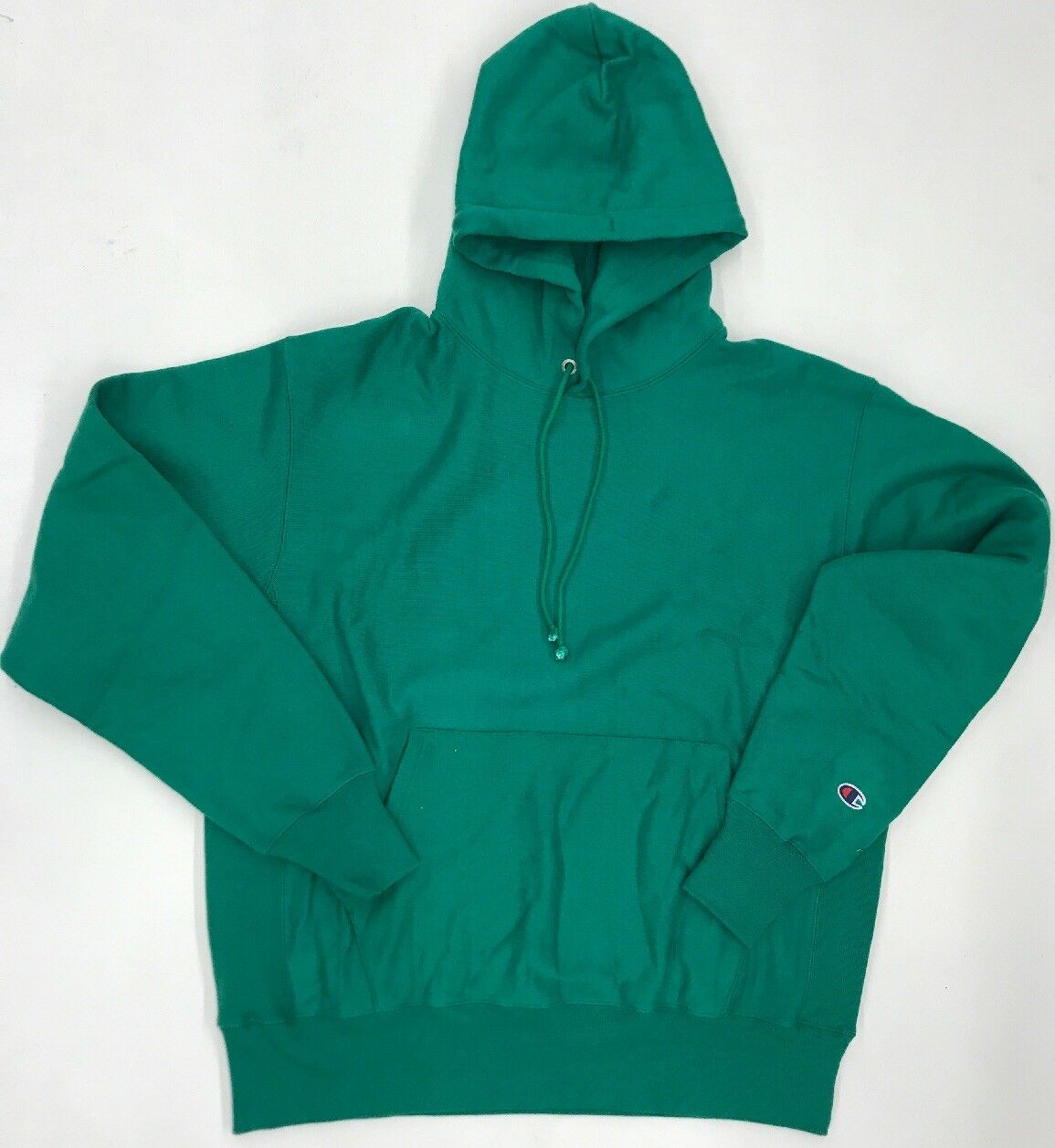 Champion Kelly Green Mens Sample Hoodie Size Large Nice New Rare One Of One