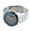 Curren-8023-6-Silver-Blue-Black-Stainless-Steel-Watch thumbnail 5
