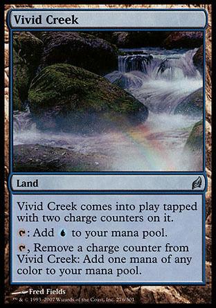 1x Vivid Creek Lorwyn MtG Magic Land Uncommon 1 x1 Card Cards