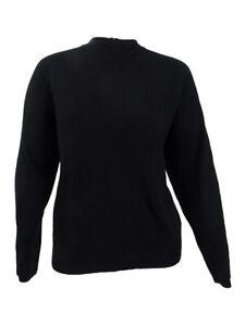 Karen-Scott-Women-039-s-Plus-Size-Luxsoft-Mock-Neck-Sweater-PXL-Luxsoft-Black