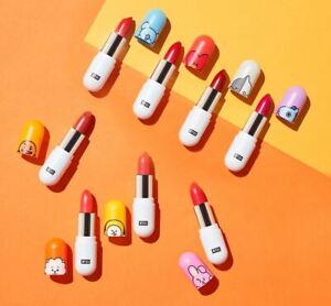 BTS BT21 X VT Cosmetic Collection BT21 Lippie Stick 8 Colors Lip Stick
