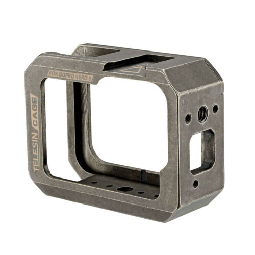 Metal Housing Protective Frame Cage Case with Hollow Backdoor for GoPro Hero 8