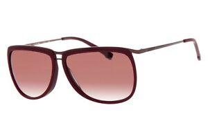 Lacoste-l127s-603-Dames-Lunettes-de-soleil-pilote-lunettes-lunettes-bordeaux-brun-rouge