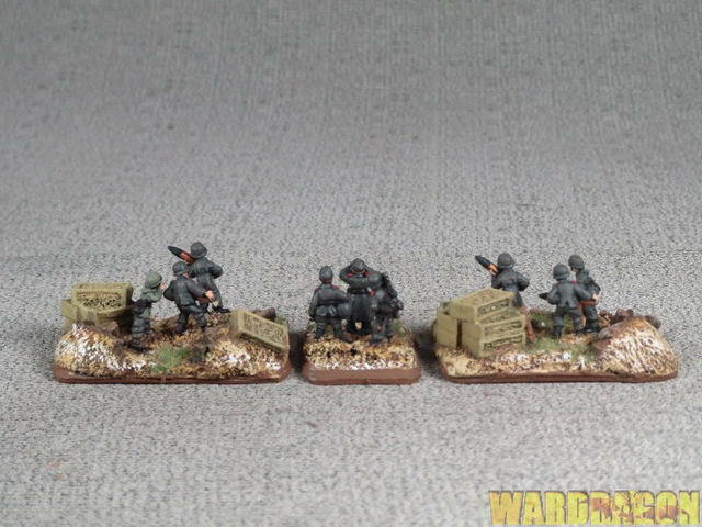 The World War II Miniatures Games Games Games German Platoon 8.8cm Flak 36 Platoon n79 7c5d39