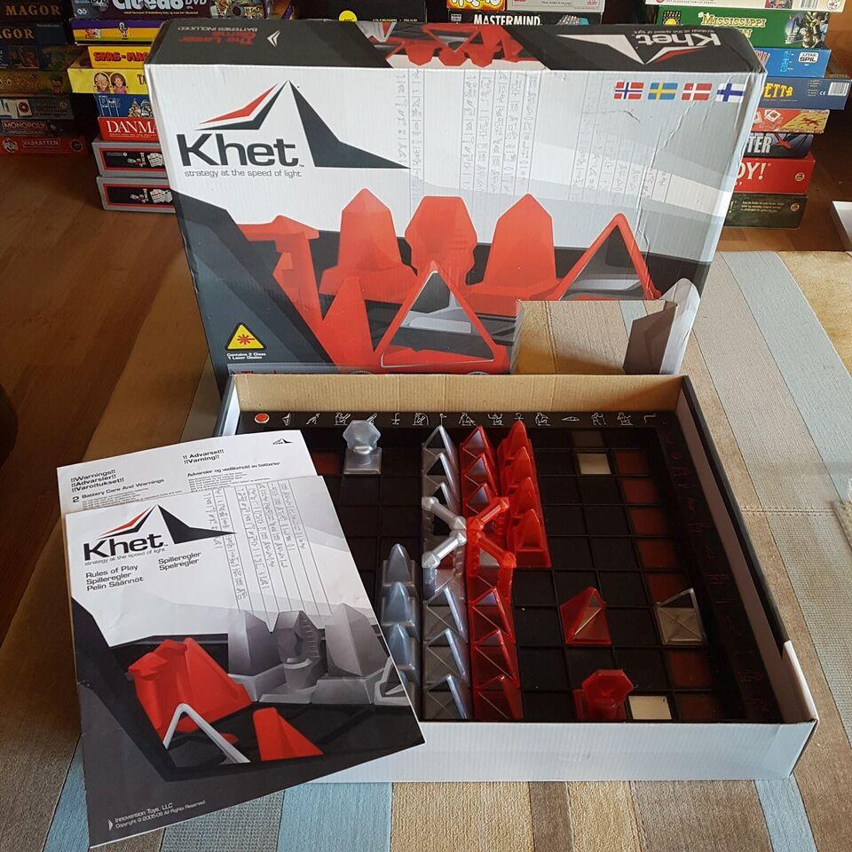 Khet - The Laser Game, strategi, brætspil