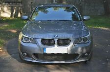 BMW E60 E61 M-Sport Front Bumper spoiler lip chin M sport Performance splitter