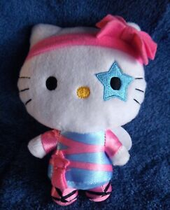 1822a-Hello-Kitty-doll-with-wings-amp-blue-star-on-one-eye-15cm-plush