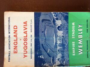 11051960 England v Yugoslavia At Wembley Folded g1o - Leicester, United Kingdom - 11051960 England v Yugoslavia At Wembley Folded g1o - Leicester, United Kingdom