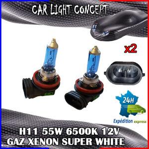 ampoule-xenon-H11-de-voiture-55-w-12-v-SUPER-WHITE-pour-phare-blanc-optique-X-2