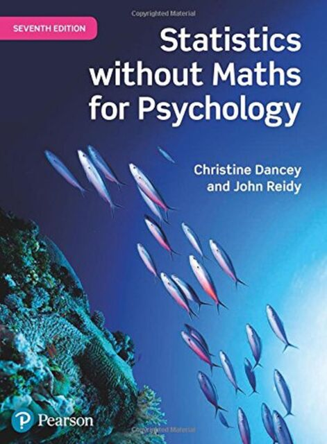 Statistics Without Maths for Psychology NEW BOOK