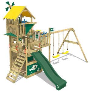 Sehr WICKEY Spielturm Klettergerüst Smart Engine Baumhaus Rutsche CK14
