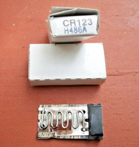 G.E General Electric CR123H4.86A Thermal Overload Relay Heater Element NEW