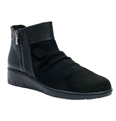 best website quality special sales TS shoes TAKING SHAPE sz 7 / 38 Ruby Ruched Ankle Boots wide fit ...