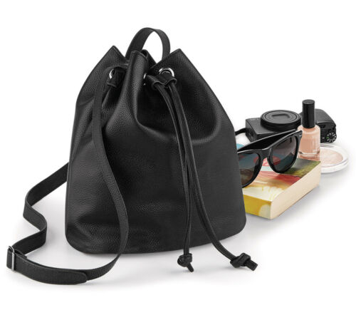 NUHIDE BUCKET BAG SHOULDER BAG HANDBAG HOLDALL BUSINESS TRAVEL SPORT HGQD886BTC
