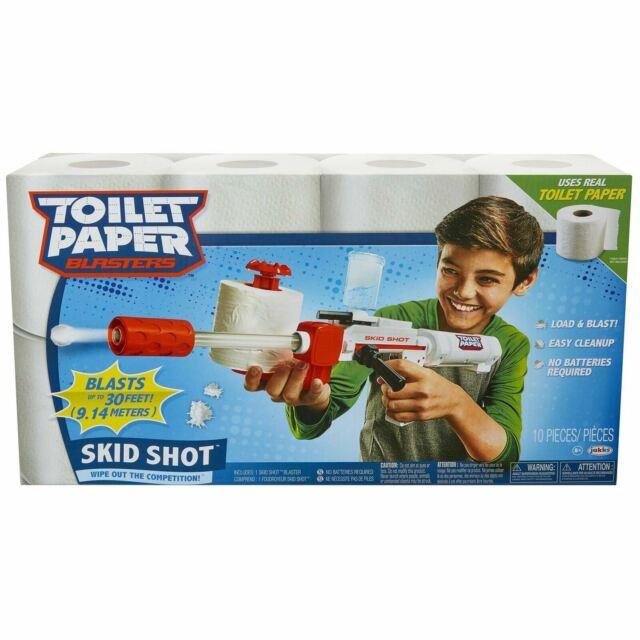 Papier Toilette Blasters Dérapage Tir - Lingette Sortie The Compétition
