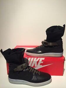 ac5383d9ab60 NikeLab Nike Air Force 1 AF1 Downtown Hi SP x ACRONYM Black Sz 10.5 ...