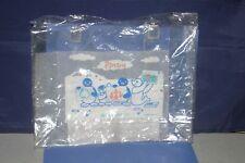 Pingu Pinga,Pingi,Robby Vinyl clear bag Promotional SUMITOMO LIFE JAPAN
