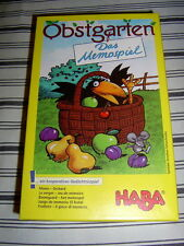 Haba Nr. 4610 - Obstgarten - Das Memospiel *