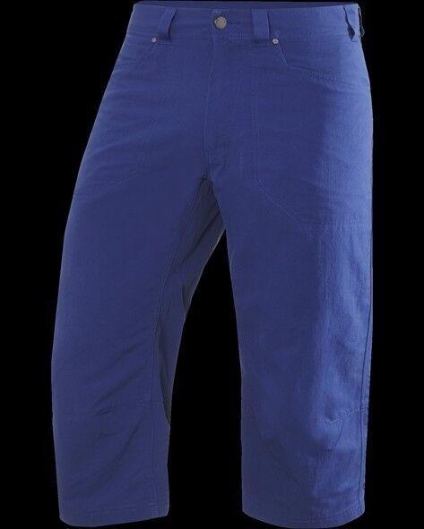 Haglofs Uomo 3 4 - Pantaloni Mid Ridge Knee Pant, Typhoon blu