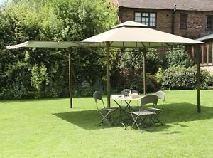 Image is loading CANOPY-ONLY-for-Camelot-Extending-Patio-3-x- & CANOPY ONLY for Camelot Extending Patio 3 x 3m Gazebo CAM0328 | eBay