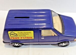 Details about PRIZE PATROL COLLECTIBLE BANK VINTAGE MINI VAN PUBLISHERS  CLEARING HOUSE PRIZES