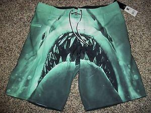 ZeroXposur - ZeroXposur Mens Shark Swim Bottom Board ... |Shark Board Shorts For Men