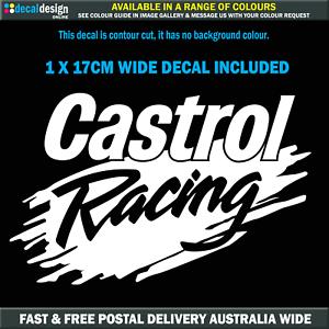 Castrol-Racing-Decal-Larry-Perkins-decal-for-man-cave-tool-box-fridge-C012