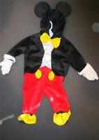 Disney Mickey Mouse Halloween Dress Up Costume 6 Months Size