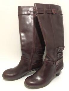 Cuir Ambre Talon Dr Martens Bordeaux Force Wardrobe 8 Haut Bottes W Taille pTq77x
