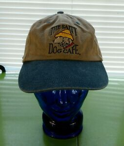 052be70f9e7 Vtg THE SALTY DOG CAFE Hat Cap Adjustable Strap Hilton Head island ...