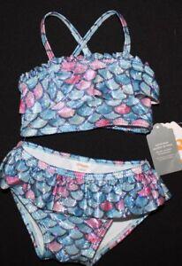Gymboree Toddler Girls 2-Piece Mermaid Scales Swim Set