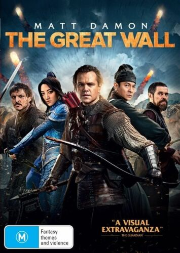 1 of 1 - The Great Wall DVD NEW Matt Damon Zhang Yimou Region 4