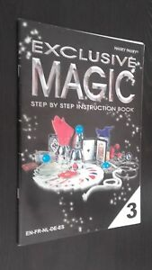 Exclusivo-Magic-Hanky-Panky-Step-By-Step-Instrucciones-Book-N-3-2010-Tbe