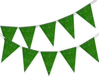 Pitch World Cup Football Bunting Banner 12 flags by PARTY DECOR