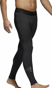 adidas-AlphaSkin-Sport-Mens-Long-Training-Tights-Black-Compression-Pants