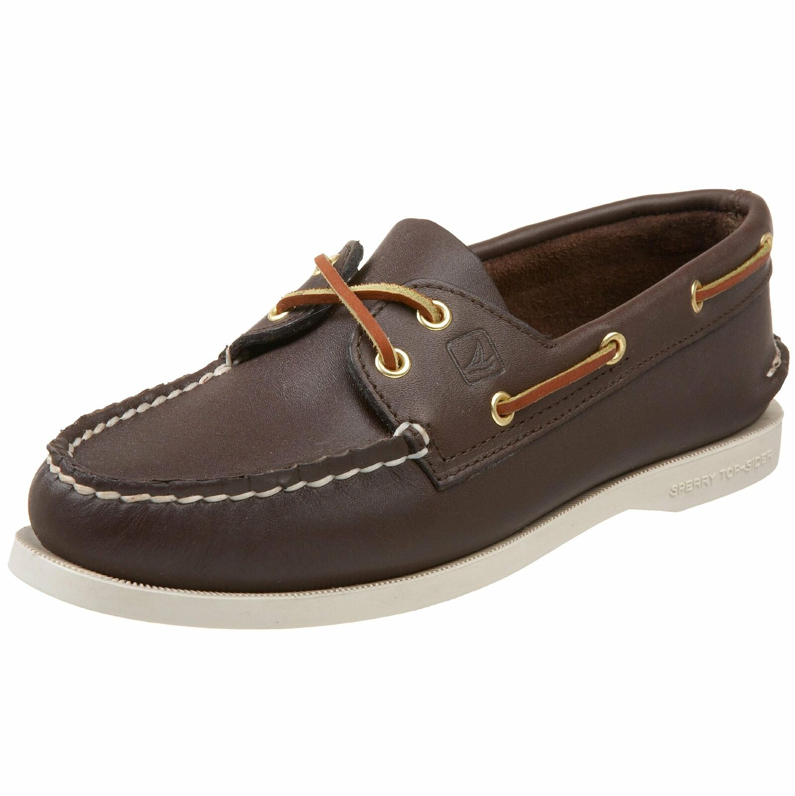 Sperry 9195017W  Top-Sider dahommes authentic original Two-Eye Boat marron chaussures