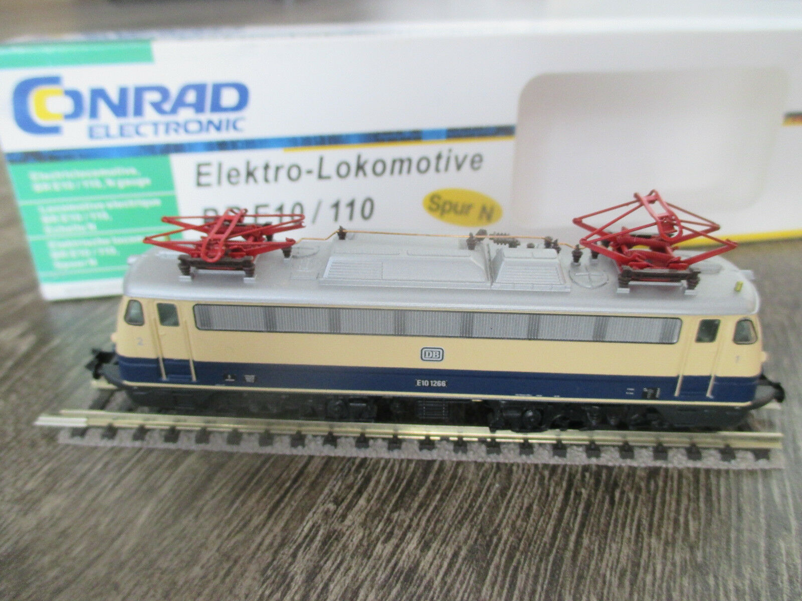 Hobbytrain-Conrad 241026 E-Lok BR e10 Rheinoro Spur N 1:160 NUOVO & OVP