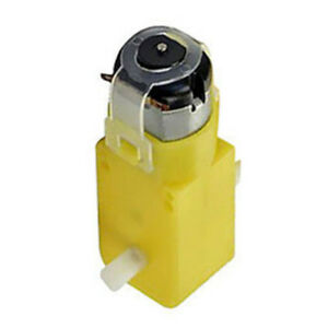 10-Pack-TT-Geared-Car-Gear-Motor-Dual-Shaft-DIY-Gear-Fit-for-Arduino-Car-Yellow