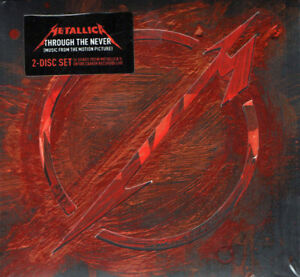 Metallica ‎– Through The Never 2CD Blackened Recordings 2013 NEW & SEALED 602537514410