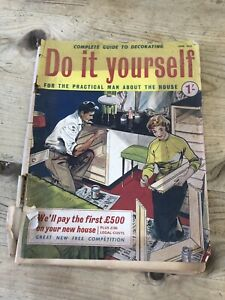 Image Is Loading Vintage Magazine Do It Yourself April 1959 60th