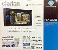 Clarion Nx605 2-din In-dash Dvd/cd/am/fm Navigation Car Stereo W/ Bluetooth