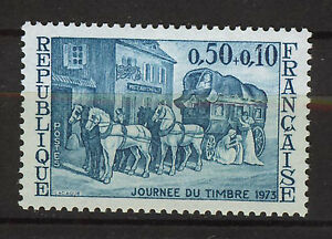 FRANCIA-FRANCE-1973-MNH-SC-B470-Stamp-Day