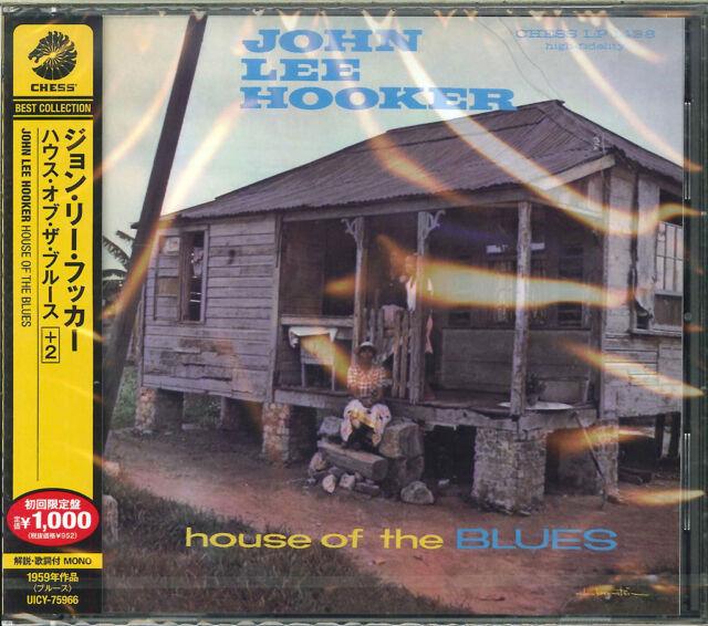 JOHN LEE HOOKER-HOUSE OF THE BLUES+2-JAPAN ISSUE CD BONUS TRACK B50