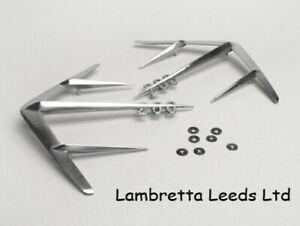 LIs CASA LAMBRETTA SIDE PANEL BADGES SX 200 SX 150. SERIES 3 TV
