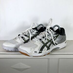 Asics-Gel-Rocket-6-Flash-White-Volley-ball-Chaussures-B207J-Baskets-UK-7-EU-41-5