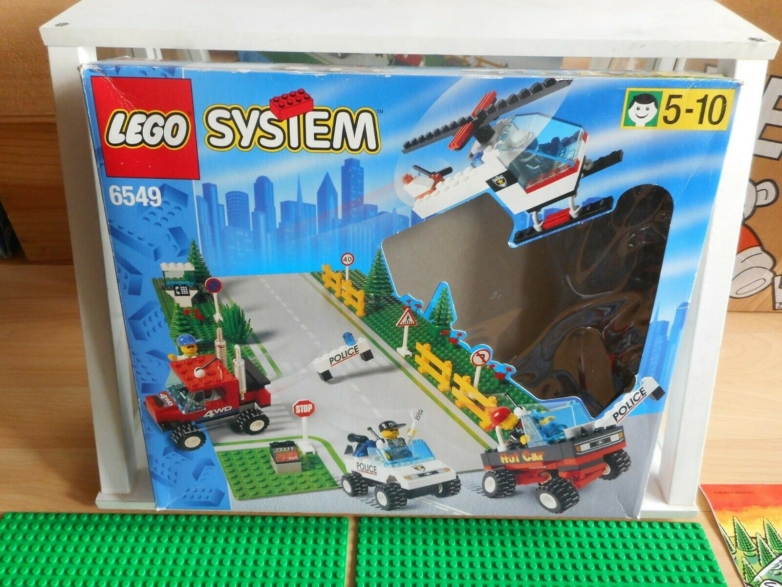 Lego System Traffic Set in Box (Lego nr  6549)