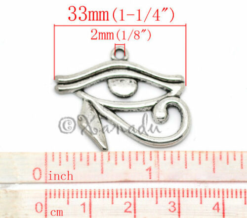 20 Or 50PCs Egypt Antiqued Silver Plated Egyptian Charms 10PC Mix CM6303-10