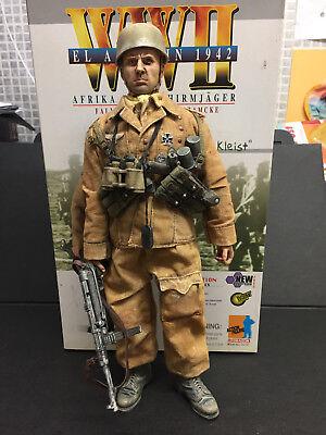 "WWII DRAGON 1/6 GERMAN FALLSCHIRMJAGER BRIGADE RAMCKE 12"" FIGURE ELITE FORCE"